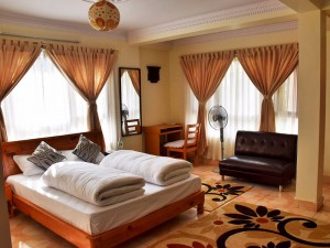 Double Deluxe Room with Terrace